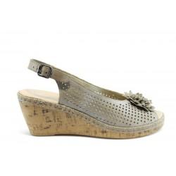 Немски сандали на платформа Rieker 65385
