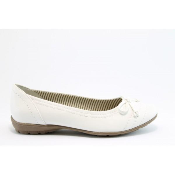 Равни немски обувки Jana 22160БЯЛ