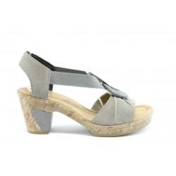 Немски сандали на ток Rieker 69763