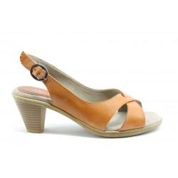 Немски сандали на ток Jana 28300 ОРАНЖ