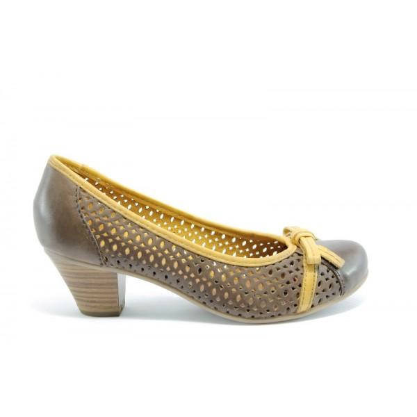 Дамски обувки на ток Jana 22319БЕЖ ANTISHOKK