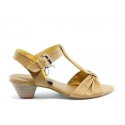 Немски сандали на ток Jana 28205К ANTISHOKK