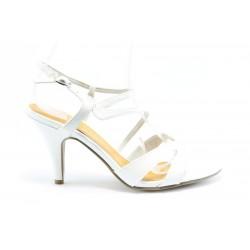 Немски сандали на ток Marco Tozzi 28312БЯЛ