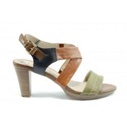 Немски сандали на ток Caprice 28311