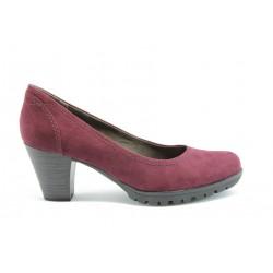 Елегантни немски обувки Jana 22400 Бордо ANTISHOKK