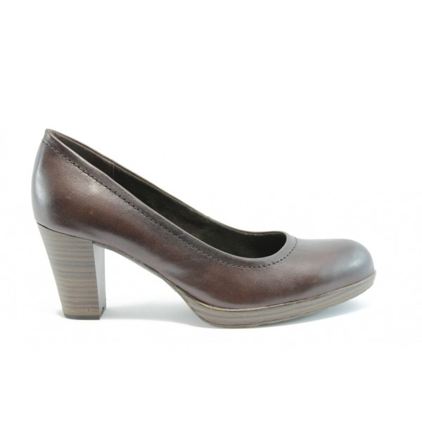 Елегантни немски обувки Jana 22403Т.Кафе ANTISHOKK
