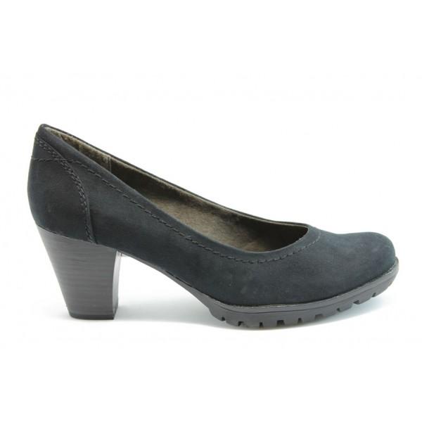 Немски обувки на ток Jana 22400Черен ANTISHOKK