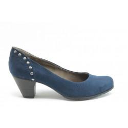 Стилни дамски обувки на среден ток Jana 22462с