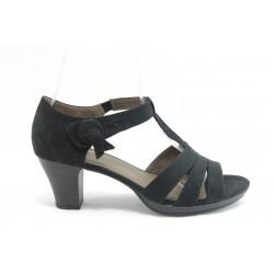 Дамски сандали на среден ток Jana 28365 черни