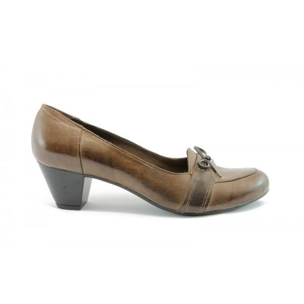 Дамски обувки на нисък ток МИ 53к