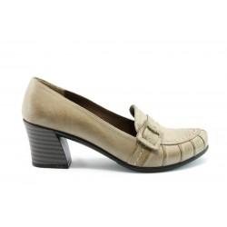 Дамски обувки на среден ток МИ К55Б
