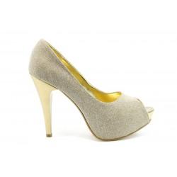 Елегантни дамски обувки на висок ток МИ 1701ж