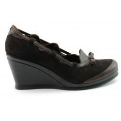Дамски обувки на платформа АК 2077Кафе