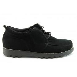 Дамски обувки-кларк НБ 3020Ч.В.