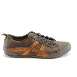 Дамски спортни обувки от естествена кожа МИ 20к