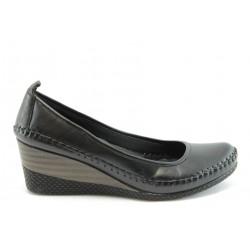 Дамски обувки на платформа МИ 150чер