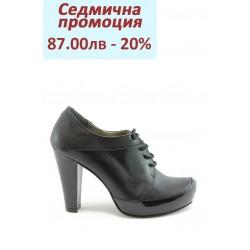 Дамски обувки с връзки на ток МИ 290