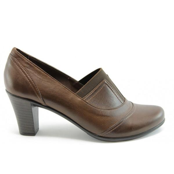 Дамски обувки естествена кожа МИ 508