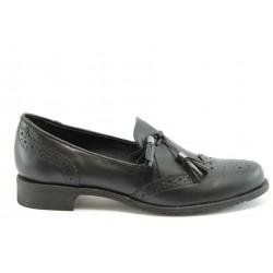 Дамски обувки без връзка ГО 7003черно