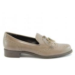 Дамски обувки без връзка ГО 7003беж