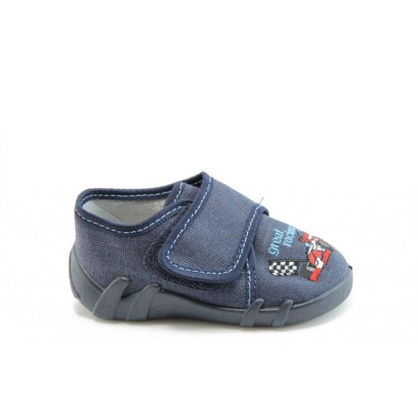 Анатомични детски обувки МА 13-110т.син 20/25