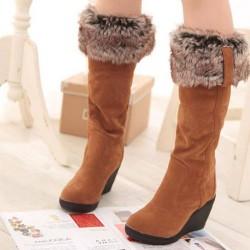 Зимни дамски обувки – съчетание...