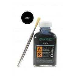 Боя за пребоядисване на гладка кожа Salamander 8178 черна