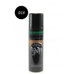 Освежаващ цвета спрей за обувки от велур и набук Salamander 8281 018 черен