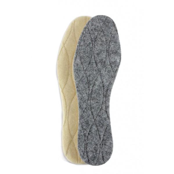 Двулицеви стелки от естествена вълна Bergal 6623 | Стелки за обувки | MES.BG
