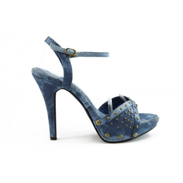 Дамски сандали на висок ток ФР 0846С