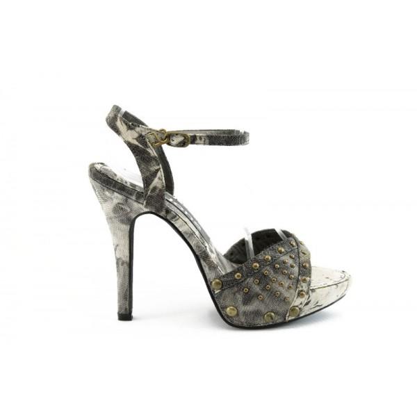 Дамски сандали на висок ток ФР 0846Б