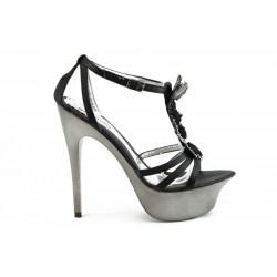 Дамски сандали на висок ток ФР Н30Ч