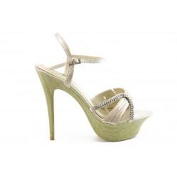 Дамски сандали на висок ток ФР 8881Б