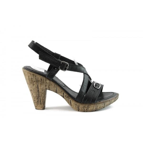 Дамски сандали на ток МИ 342Ч