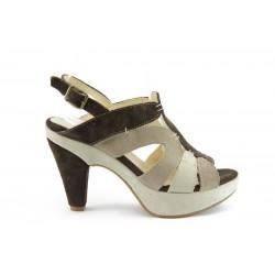 Дамски сандали на ток ГО 23К