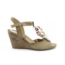 Дамски сандали на платформа ИО 1270Б