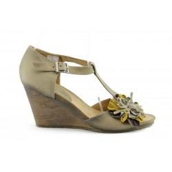 Дамски сандали на платформа ИО 1293Б