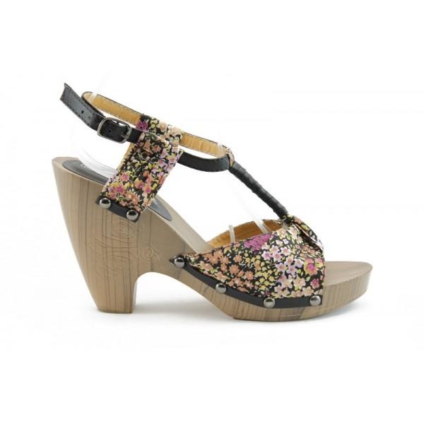 Дамски сандали на ток ФР 11312Ч