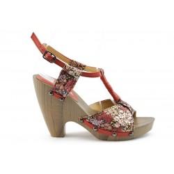 Дамски сандали на ток ФР 11312ЧВ