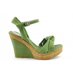 Дамски сандали на платформа МИ 18 З.К.