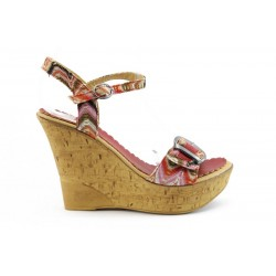 Дамски сандали на платформа МИ 163ЧВ