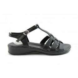 Равни дамски сандали АК1100Ч