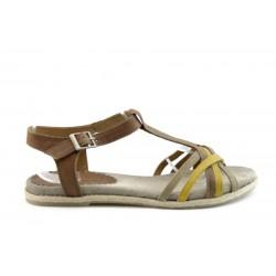 Равни дамски сандали ИО1236К