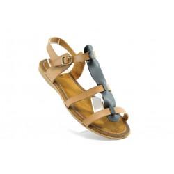 Равни дамски сандали ПИ 1053черен