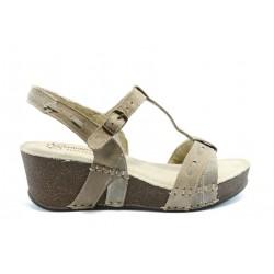 Дамски анатомични сандали естествена кожа ГР 4902