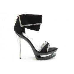 Дамски сандали на висок ток ФР 133Ч