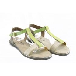 Дамски сандали от естествена кожа Tamaris 28175з