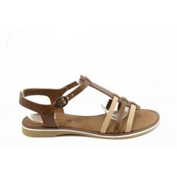 Дамски сандали от естествена кожа Tamaris 28130к