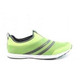 Мъжки летни маратонки Runners 0026 Зелен