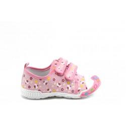 Детски маратонки с лепенки РЛ 005 розово